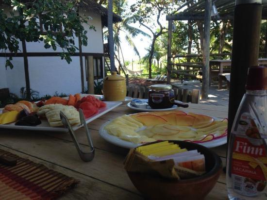 Pousada Farol das Tartarugas: café da manhã
