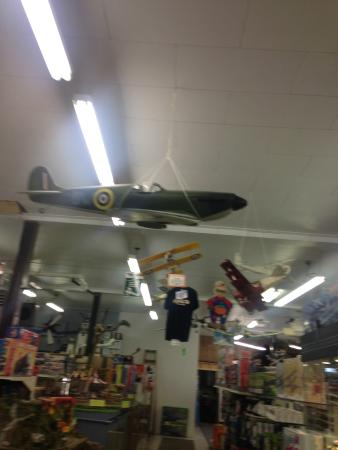 J-Bar Hobbies: Look at the Planes on the Ceiling!!