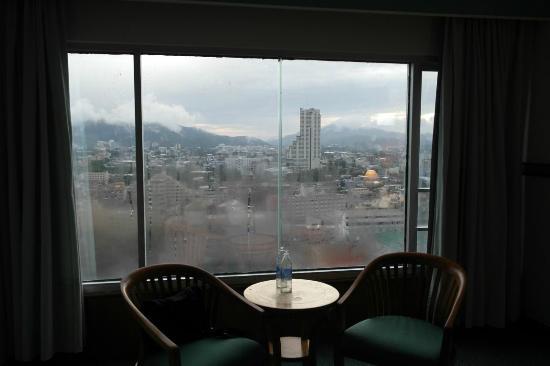 Sakura Grand View Hotel: Ausblick aus dem Fenster