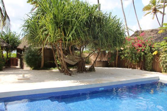 Matemwe Bandas Boutique Hotel, Zanzibar: Pool area