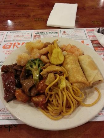 Great Wall Buffet: dinner buffet