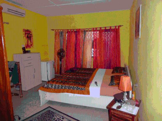 African-Swiss Guest House Accra: Eins der schönen Zimmer