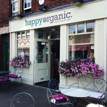 Happy Organic: Outside