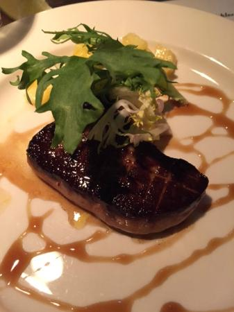 The Toasted Frog: Seared foie gras to die for!