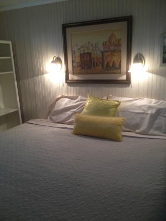 Nostalgic 1950's Panama City Beach Bed and Breakfast: Some of the Original Art in The Original Art Bedroom with King Sized Memory Foam Bed