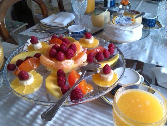Casa do Adro: colazione a evora