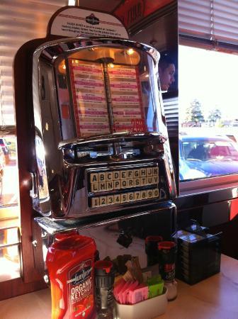 Table Side Jukebox Picture Of Silver Diner Glen Allen