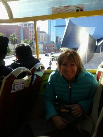 City Sightseeing Los Angeles: En el bus cocoenciendo famoso Kodak Center