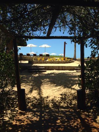 Villas de Trancoso Hotel: Caminho da praia! Lindo!