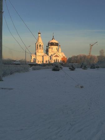 Slantsy, Rússia: The town's only church