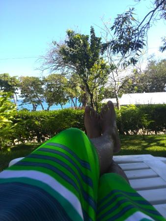 Hotel Luz de Mono: Desde la piscina!