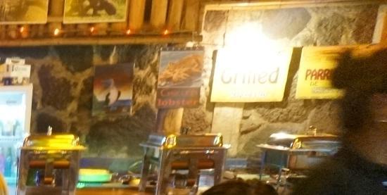 Cafe del Mar: На ужине-буфете