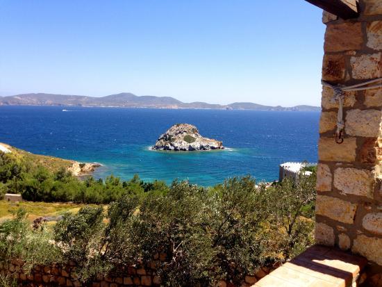 Eirini Luxury Hotel Villas : Vista di giorno dalla terrazza
