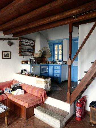Eirini Luxury Hotel Villas : angolo cucina