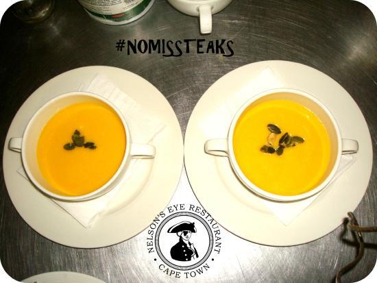 Nelson's Eye: Creamed Butternut & Sweet Potato Soup