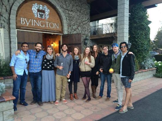 Byington Vineyard and Winery: Group Photo