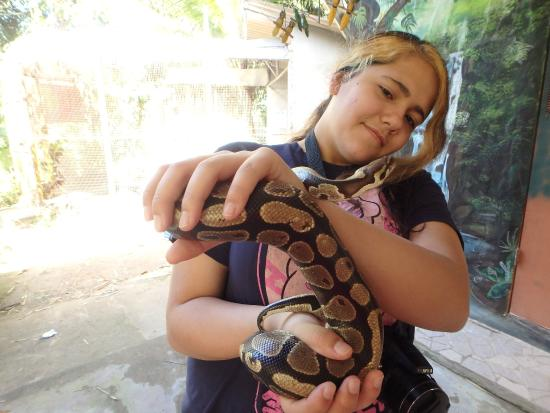El Serpentario: Snake handling