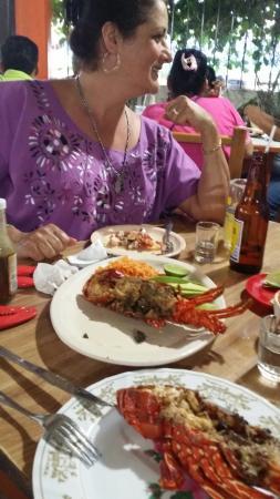 El Grillo Marinero: Que buena la langosta!