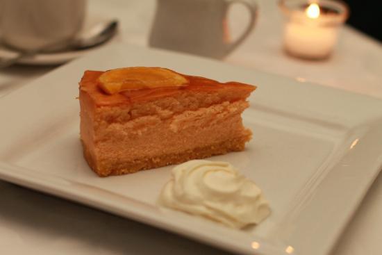 Mandalay Restaurant: Grand Marnier Cheesecake