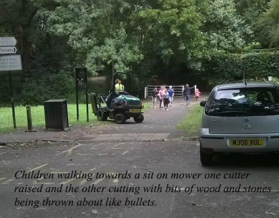 Bramall Hall: Health and safety of the public.
