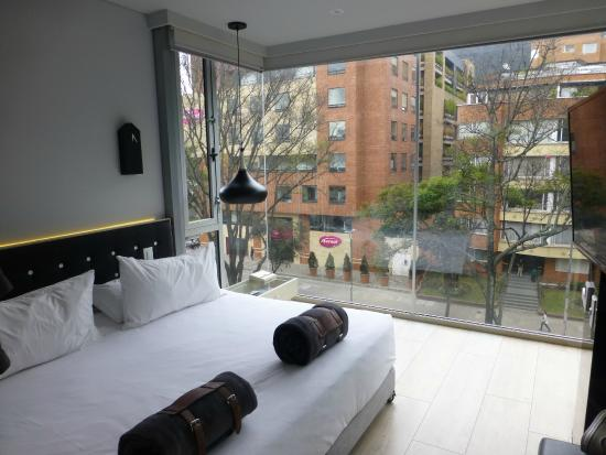 The Click Clack Hotel: View from room entry
