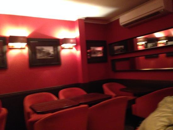 Cafe de Sao Bento : area interna do Santo