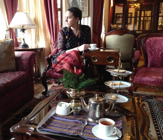 The Orchid Dining Room: Tea at the Elgin
