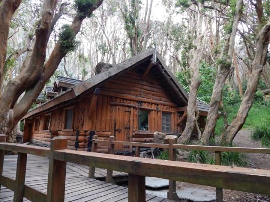 Disney's Cabin: Vista externa da Casita de Té