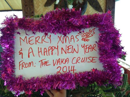 Happy New Year from the Vaka Cruise