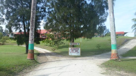 Rumors Resort: View from the road