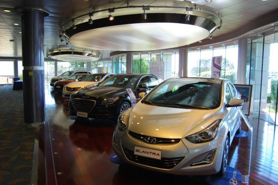 Delightful Hyundai Motor Manufacturing Factory Tour: Car Showroom