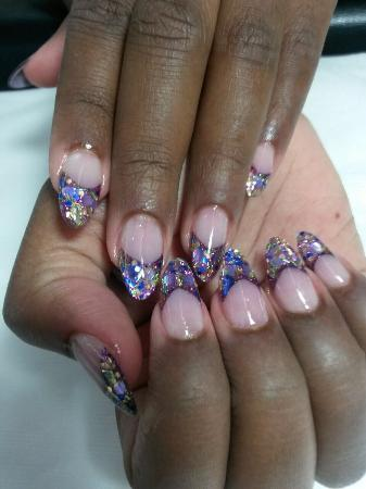 The Retreat at Tips N Toes : Gorgeous nails!