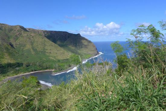 Halawa Valley: View from above