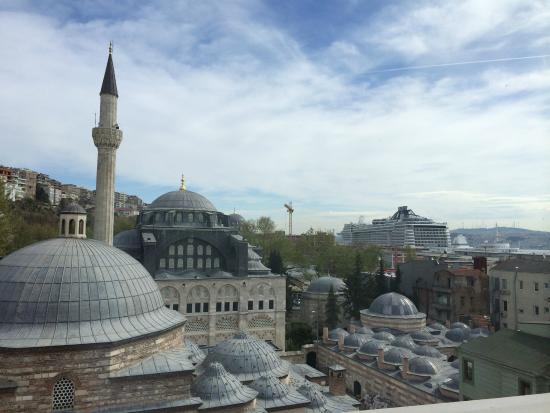 Port Hotel Tophane-i Amire: View from My Penthouse