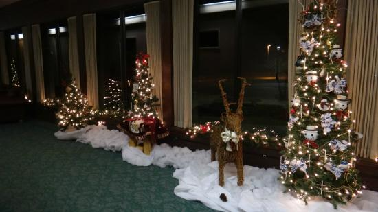 shawnee lodge and conference center lodge christmas decorations