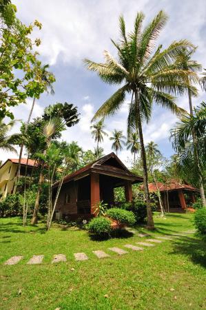 Baan Mai Beachfront Lone Island: Garden Seaview