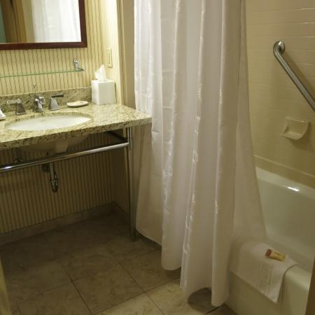 Sheraton Sioux Falls & Convention Center: Shower