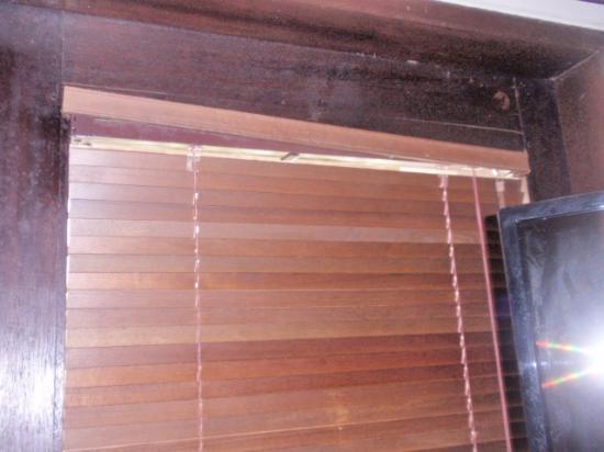 Maya Sayang: The blinds in bad shape