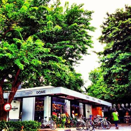 Photo of Cafe Cafe' Velodome at 2 ถนนพระจันทร์, Bangkok 10200, Thailand
