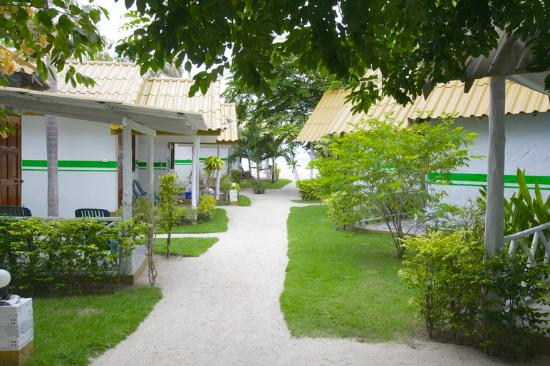Lime n Soda Beach Front Resort: Bungalow Access