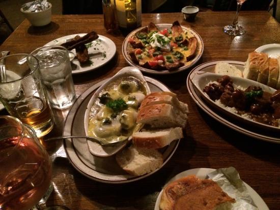 Double Musky Inn: Appetizers