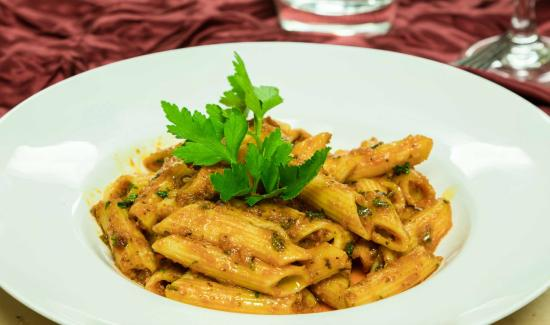 Penne all 39 arrabbiatta picture of vesuvio italian for All about italian cuisine