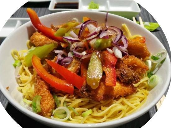 Côté Sushi Marceau : Le soba chicken