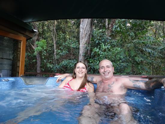 Bloomfield Lodge: our personal hot tub