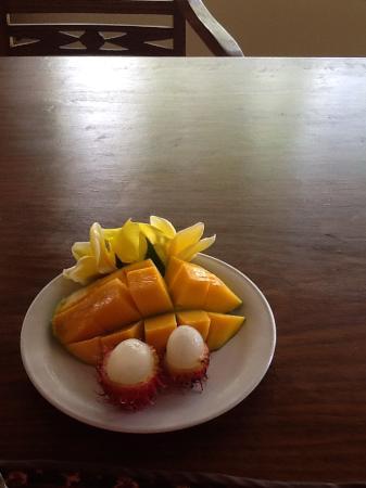 Udayana Kingfisher Eco Lodge: Part of breakfast