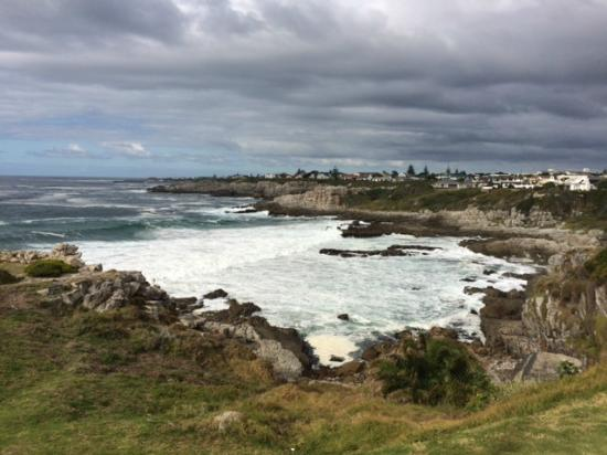 Whale Rock Luxury Lodge: Beach front Hermanus, beautiful (easy) hiking trail