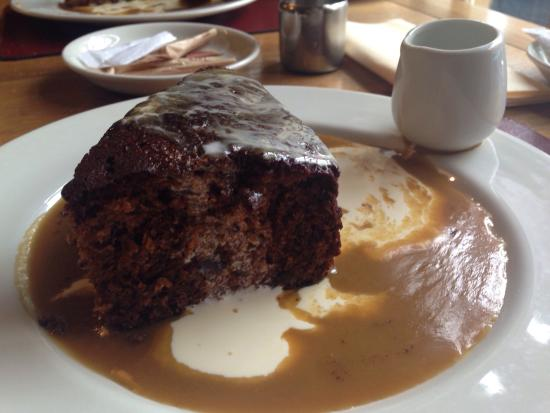 Old Kings Arms Hotel: The sticky toffee pudding!