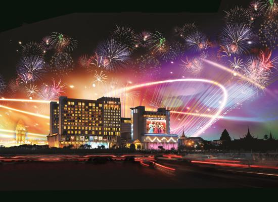 NagaWorld Hotel & Entertainment Complex: NagaWorld Building
