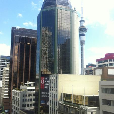 Quest on Queen: Sky Tower views