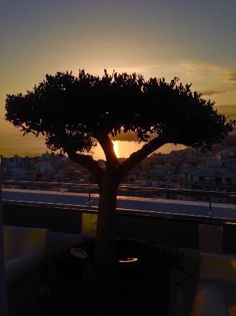 Hotel Madeira Centro: Terraza Mirador Cafetería #planta20